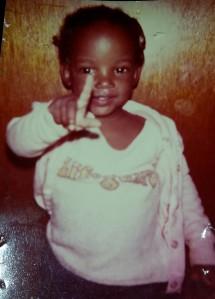 Precious as a 1 yr old.